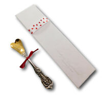 Francis I by Reed & Barton Sterling Silver True Love Heart Spoon Valentines Day