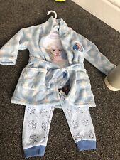 baby girls pyjama set with gown