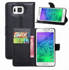 For Samsung Galaxy Alpha G850F Flip Leather Wallet Stand Case Cover