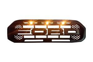 Ford Ranger Raptor Style LED Grill _ 2019 - 2021 Ranger Grille