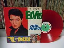 ELVIS PRESLEY - Girl Happy KOREA Earley Pressed LP RED WAX