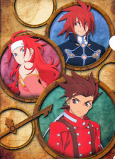Tales of Symphonia Folder Clear File Banpresto Ichiban Kuji Kratos Lloyd Zelos G