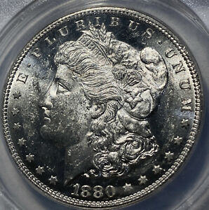 1880 S Morgan Silver Dollar - VAM 22 - MS62 ANACS!