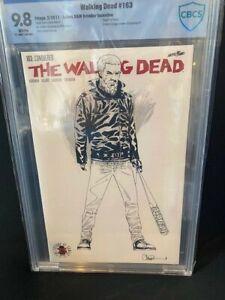 Walking Dead 163 VARIANT SET!!  (2017) CBCS 9.8 !! BOTH 1:200 and 1:500 VARIANTS