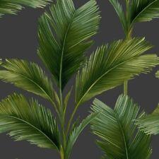 Tropical Green Jungle Palm Leaf Charcoal Realisitc Leaves Kailana Wallpaper