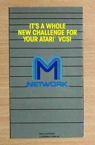 ATARI 2600 - M NETWORK  -  Catalogue 0151-0050