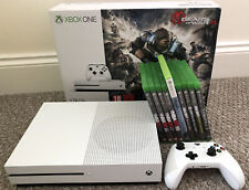 Xbox One S 1TB - 9 Games & 1 Controller