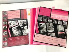 Creative Memories 21 Sheets Photo Mounting Paper Perfect Reds/Shades Of Pink