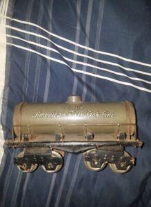American Flyer Pre-War American Flyer Tank Line # 1118 Tank Train