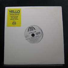 "Yello - Vicious Games 12"" Mint- 162-440 812-1 Smash 1993 USA Vinyl Record"