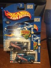 2002 Hot Wheels Lot of Two Anglia Panel #143 Color Variation