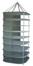 Trockennetz 8lagig quadratisch 80x80x175 cm halboffen groß DryNet DryNetz
