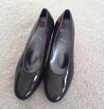 Señoras Ara Marrón Zapatos Tribunal De Patentes-Talla 5-Nuevo
