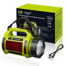 3Modi 10W LED Aufladbarer Suchscheinwerfer Taschenlampe Campinglampe Wasserdicht