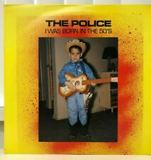 THE POLICE I WAS BORN IN THE 50'S 2 DISC VINYL LP 1990 EVA 2R 70 2 LIVE CONCERTS