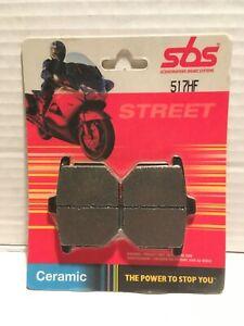 SBS MOTORCYCLE BRAKE PADS, SBS 517HF, HONDA GL1000, GOLDWING, CB900, CX500