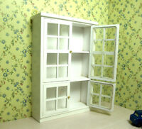 1/12 Dollhouse Miniature Furniture Kitchen Display Cupboard Cabinet Shelf Case
