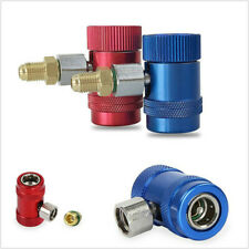 Pair Brass&Metal Replace A/C Air Conditioner Quick Coupler Connector Adapter Set