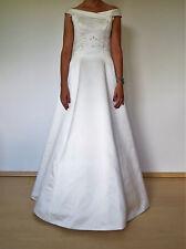 Brautkleid von WEISE, Größe 36, champagner, mit Reifrock u. Schleppe, NEUWERTIG!
