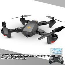 High Quality VISUO XS809HW Wifi FPV 0.3MP Camera 2.4G 6-Axis RC Quadcopter Toys