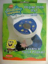 Potty Training Seat Portable Foldable Nickelodeon SpongeBob New