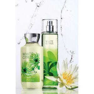 Bath & Body Works White Citrus Mist for Women 236ml SET