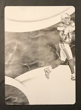 2016 Panini Immaculate 1/1 Corey Coleman Rookie RC Printing Plate Patriots