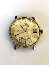 VINTAGE HAMILTON DIAL BUREN SWISS WATCH MOVEMENT 17 JEWELS PARTS REPAIR ONLY