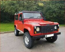 Defender Red Cars