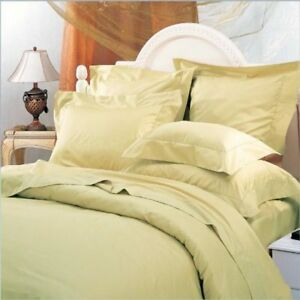 Luxurious Wrinkle Free Cotton Blend Duvet Cover Set with 650tc