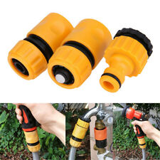 3x Fast Coupling Adapter Drip Tape For Irrigation Hose Connector Garden Tool XJ