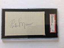 Thurman Munson Signature (SGC Authentic) - 1976 All Star Game