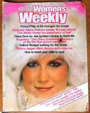 Australian Women's Weekly Magazine - June 13, 1979 - Bianca Jagger