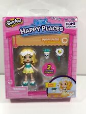 NEW Shopkins Happy Places Doll PUPPY PATIO Daisy Petals + 2pc Petkins