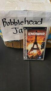 CIB TOM CLANCY'S END WAR PSP SONY PLAYSTATION PORTABLE VIDEO GAME