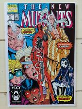 New Mutants 98 First Deadpool Extremely High Grade CGC Ready