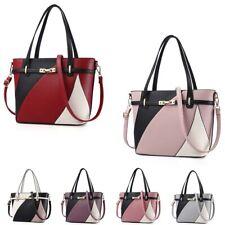 Women PU Leather Handbags Shoulder Bag Ladies Purse Messenger Satchel Crossbody