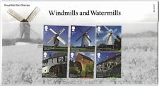 GREAT BRITAIN 2017 WINDMILLS AND WATERMILLS PRESENTATION PACK