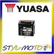 YTX5L-BS BATTERIA ORIGINALE YUASA CON ACIDO MALAGUTI F12 100 Phantom 2000