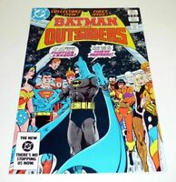 BATMAN AND THE OUTSIDERS #1 DC Comics Justice League VF/NM 1983