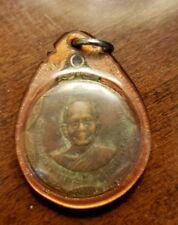 Thai Amulet Buddha Coin LP Tuad TepChomNum Wat ChaTuTadTaRam Luck Rich B.E.2556