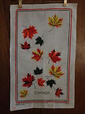 Vintage Canada Tea Towel Designed by Tony & Eleanor Paine