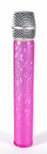 MicFX PRETTY IN PINK MICROPHONE SLEEVE / FITS WIRELESS MICROPHONES
