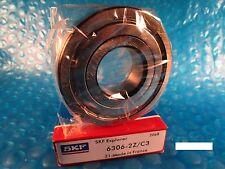 SKF 6306 2Z C3, ZZ Roller Bearing(NTN, FAG 2ZR, NSK, Fafnir Timken 310KDD)
