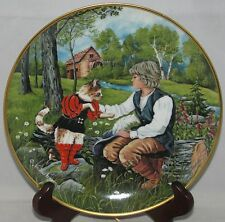 Kaiser CLASSIC FAIRY TALES Collector Plate (1983) PUSS IN BOOTS