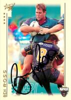 ✺Signed✺ 2003 PENRITH PANTHERS NRL Premiers Card BEN ROSS