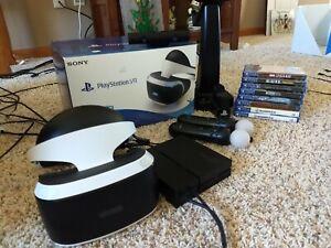 Sony PlayStation VR Starter 8 Game Bundle Pack