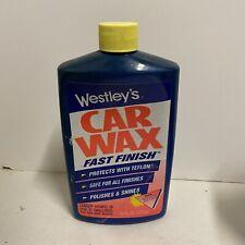 Westleys Car Wax With Teflon Vintage HTF