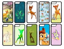 Funda Protectora De Teléfono Bambi Ciervo Thumper iPhone 5, SE, 6, 7, 8,, Xr, X Plus XS Max