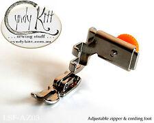 Low Shank 3-way Combi Zipper Foot